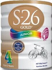 Sữa bột S-26 Gold Junior 4 - hộp 900g (dành cho trẻ trên 2 tuổi)