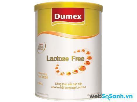 Sữa bột Dumex Lactose Free