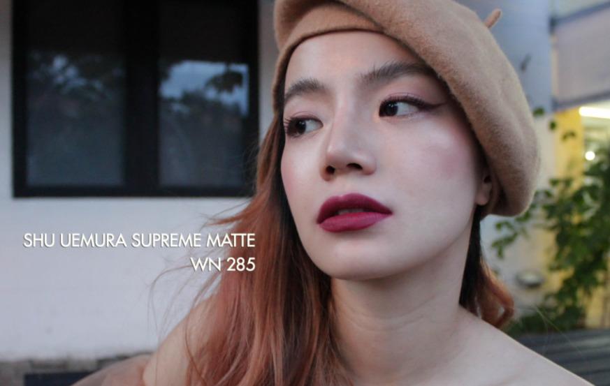 Son lì Shu Uemura Supreme Matte màu WN285