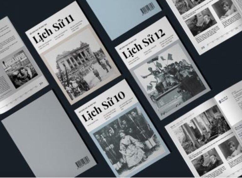 Sách lịch sử 10 có nội dung kiến thức phân hóa