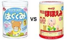 So sánh sữa Meiji và sữa Morinaga – Đâu là sữa công thức tốt hơn cho bé?