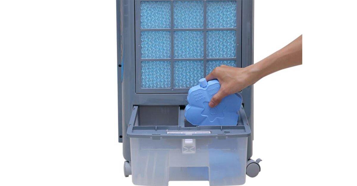 Đá khô gel là gì? Đá khô gel sử dụng trong quạt điều hòa có nguy hiểm không?