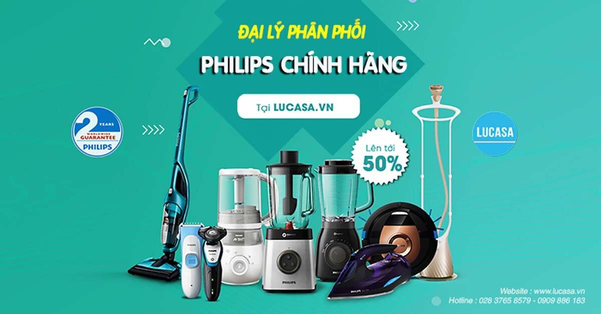 Đại lý Phân Phối Gia Dụng Philips Chính Hãng Tại TPHCM
