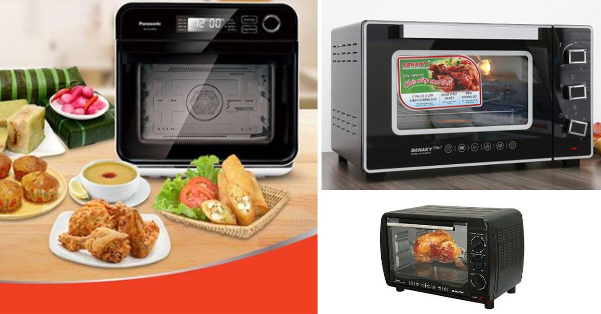Đánh giá 3 lò nướng Panasonic , Electrolux , Sanaky : Lò nướng loại nào tốt ?