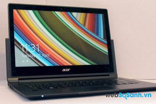 Đánh giá  Acer Aspire R13 – laptop lai đa năng của Acer Aspire R13