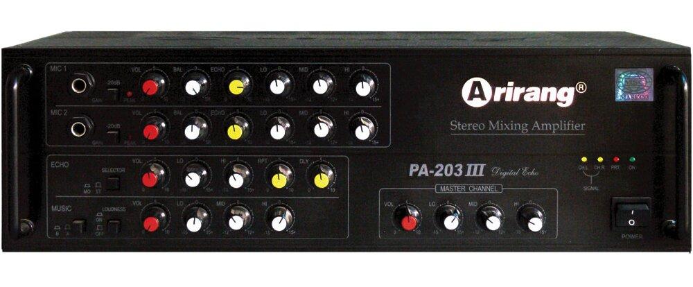 Đánh giá Âm ly Arirang PA-203III 3S – hát karaoke chuyên nghiệp