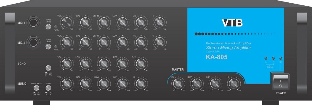 Đánh giá Âm ly Karaoke KA805 (Đen)