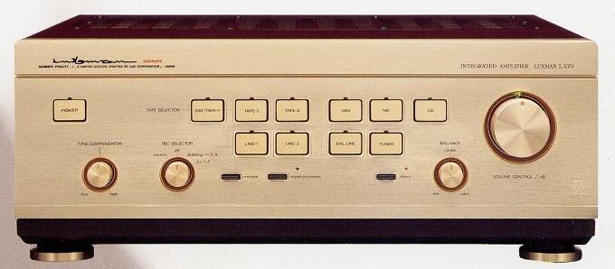Đánh giá âm ly Luxman L570 – dòng amli hay, nổi tiếng