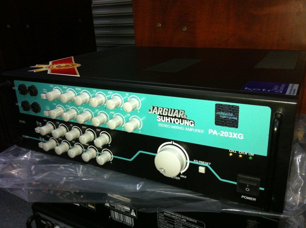 Đánh giá Amply JARGUAR PA-303XG – thế hệ Amply mới