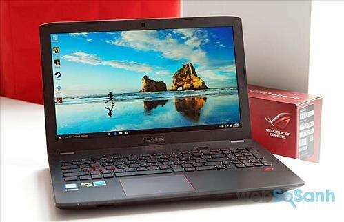Đánh giá Asus ROG GL552: laptop chơi game tầm trung hiệu năng tốt