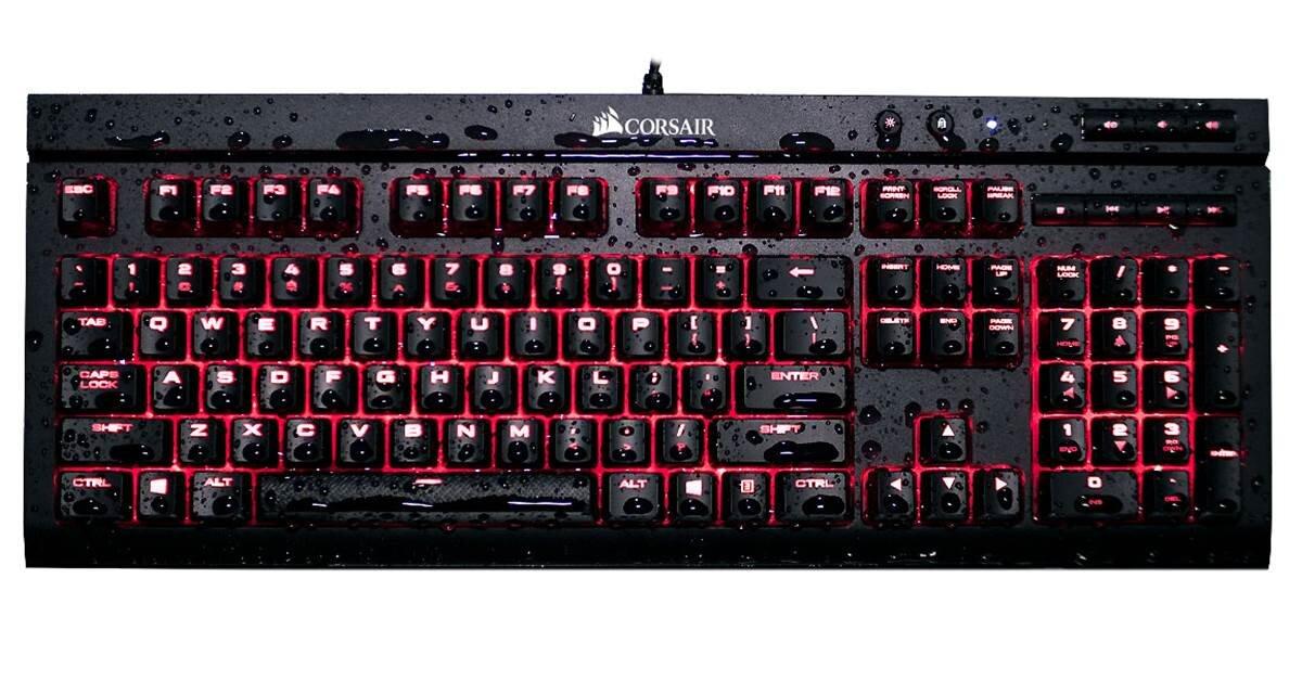 Đánh giá bàn phím cơ Corsair K68