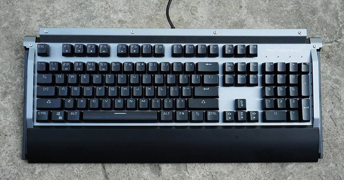 Đánh giá bàn phím cơ Motospeed K98