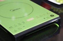 Đánh giá bếp điện từ Midea MI-SV21DV: Thiết kế độc đáo, hiện đại và sang trọng