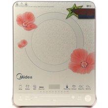 Đánh giá bếp điện từ Midea MI-SV21DW: Thiết kế đẹp, chất liệu cao cấp