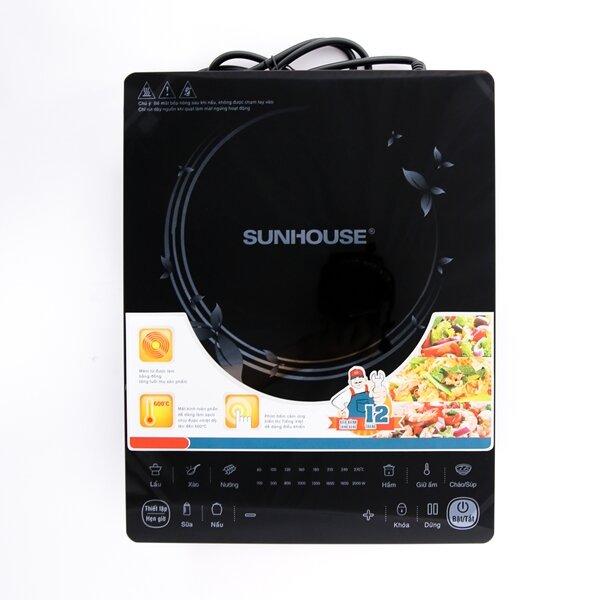 Đánh giá bếp điện từ Sunhouse SHD6861: Siêu mỏng với độ dày chỉ 39mm