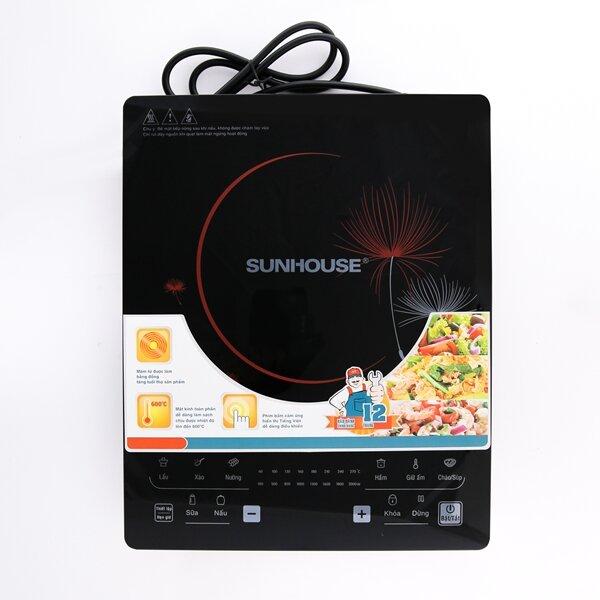 Đánh giá bếp điện từ Sunhouse SHD6862: Thiết kế siêu mỏng với độ dày chỉ 40mm