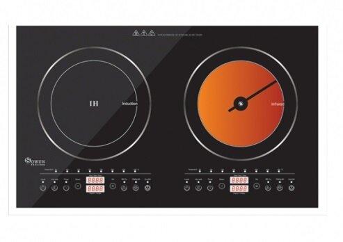 Đánh giá bếp đôi Sowun SW-1211: Độc đáo nhờ thiết kế hai loại bếp trên cùng sản phẩm