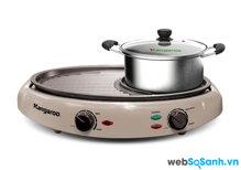 Đánh giá bếp lẩu nướng BBQ đa năng Kangaroo KG96N