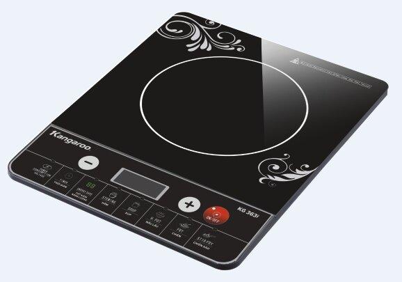 Đánh giá bếp từ Kangaroo KG420i: Thiết kế sang trọng, không kén nồi