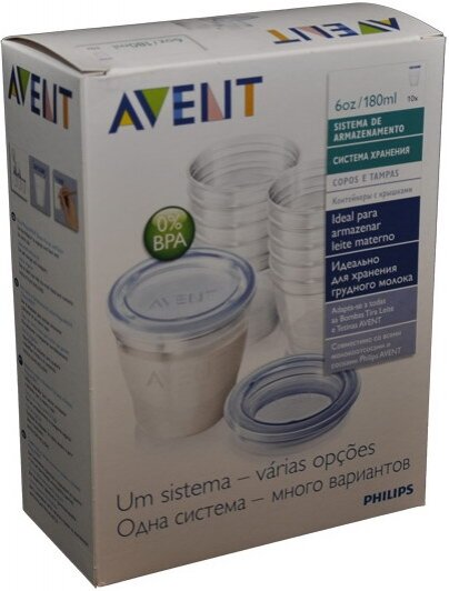 Đánh giá bộ cốc trữ sữa Philips AVENT SCF612/10