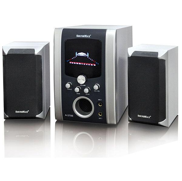 Đánh giá bộ loa SoundMax A2700/2.1