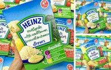 Đánh giá bột ăn dặm Heinz có tốt không? 5 lý do nên mua quan trọng