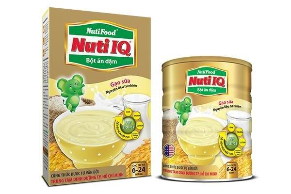 Đánh giá bột ăn dặm Nutifood – hàng Việt, giá bình dân