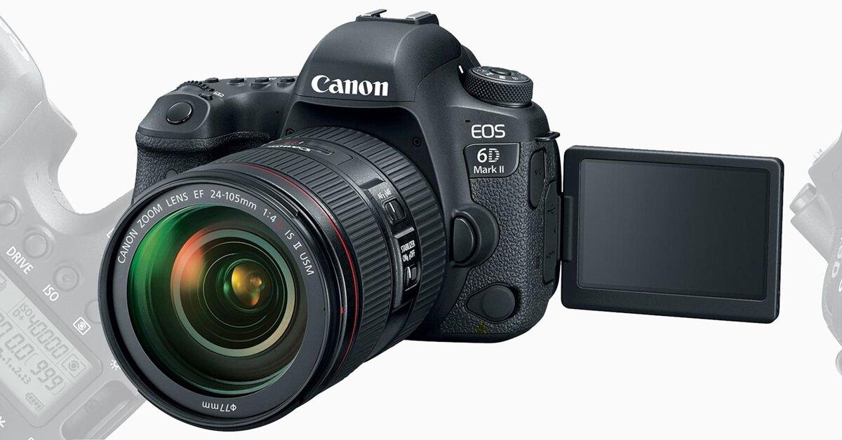 Đánh giá Canon 6D Mark II: Máy ảnh DSLR full frame giá rẻ đáng để bạn sở hữu