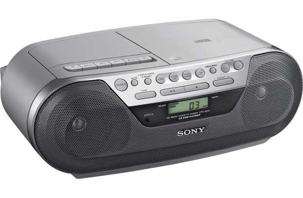 Đánh giá Cassette Sony CFD-S07: gọn nhẹ chơi nhạc hay