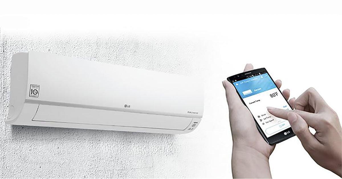 Đánh giá chất lượng điều hoà wifi LG V10APF 1 chiều 9000BTU