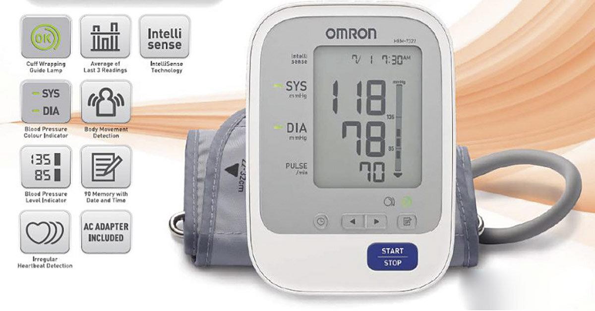 Đánh giá chất lượng máy đo huyết áp Omron thương hiệu đến từ Nhật Bản