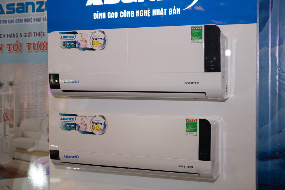 Đánh giá chất lượng máy lạnh điều hòa Asanzo có tốt không?