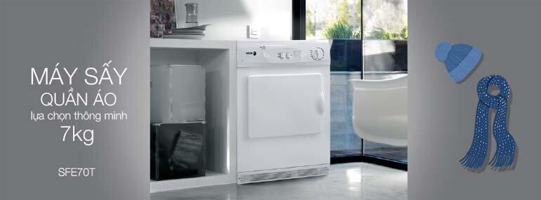 Đánh giá chất lượng máy sấy quần áo Fagor 7kg SFE-70T