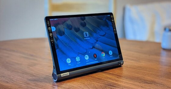 Đánh giá chi tiết Lenovo Yoga Smart Tab: Thiết kế tiện dụng, loa to, có trợ lý ảo