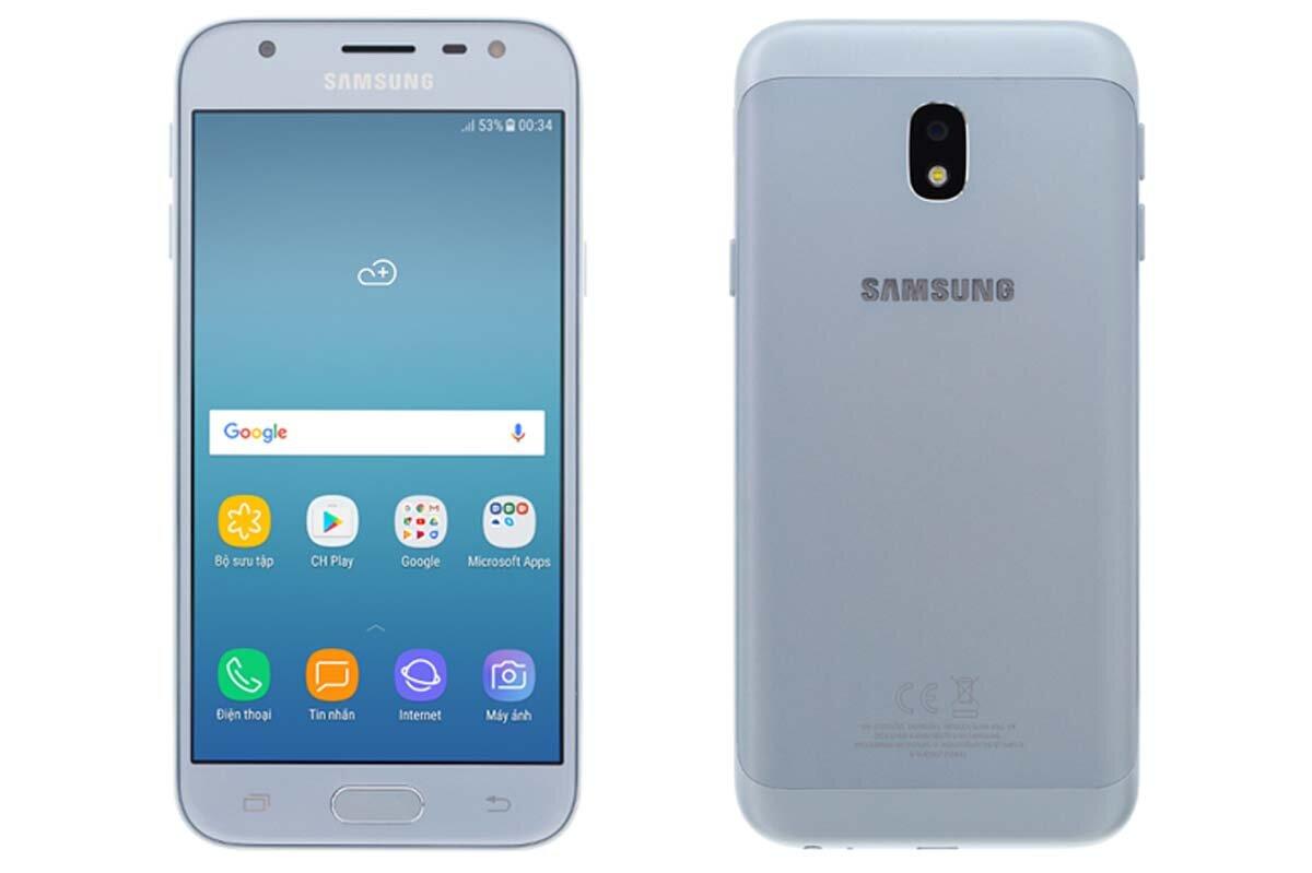 Đánh giá chi tiết smartphone giá rẻ Samsung Galaxy J3 Pro 2017