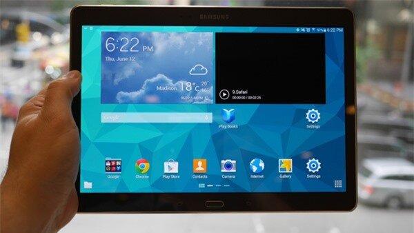 Đánh giá chi tiết tablet cao cấp Samsung Galaxy Tab S 10.5 (Phần 1: Thiết kế)