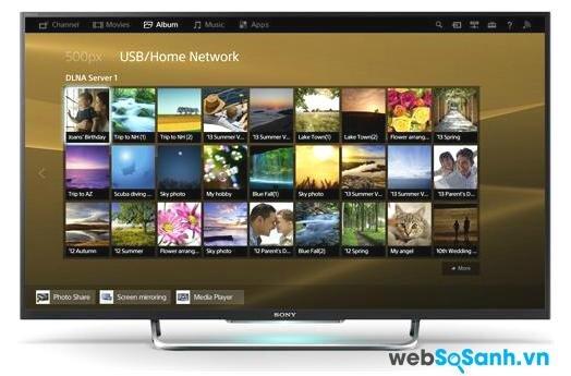 Đánh giá chi tiết Tivi Sony KDL 50W800B Bravia