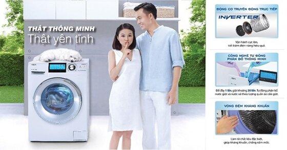 Đánh giá chung về dòng máy giặt Aqua lồng đứng và lồng ngang