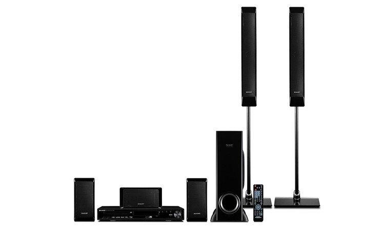 Đánh giá dàn âm thanh Karaoke Sharp DVD 5.1 HT-CN9390DVW
