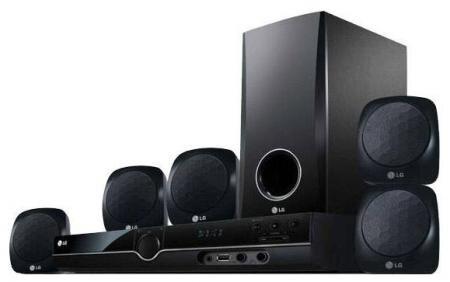"""Đánh giá dàn âm thanh LG HT-356SD 5.1 kênh, thê giới """"3D"""" ảo diệu"""