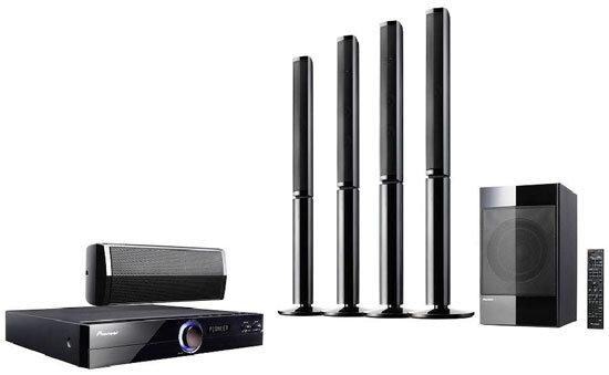 Đánh giá dàn âm thanh Pioneer HTZ424DVD (HTZ-424DVD) - 5.1 kênh, âm thanh