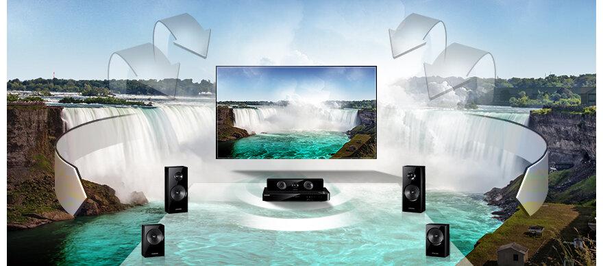 Đánh giá dàn âm thanh Samsung HT-E350K – 5.1 kênh
