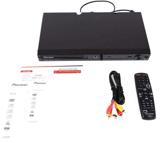 Đánh giá Đầu đĩa DVD Pioneer DV-2042K (Đen) -