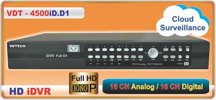 Đánh giá Đầu ghi hình Vdtech VDT – 4500iD.D1