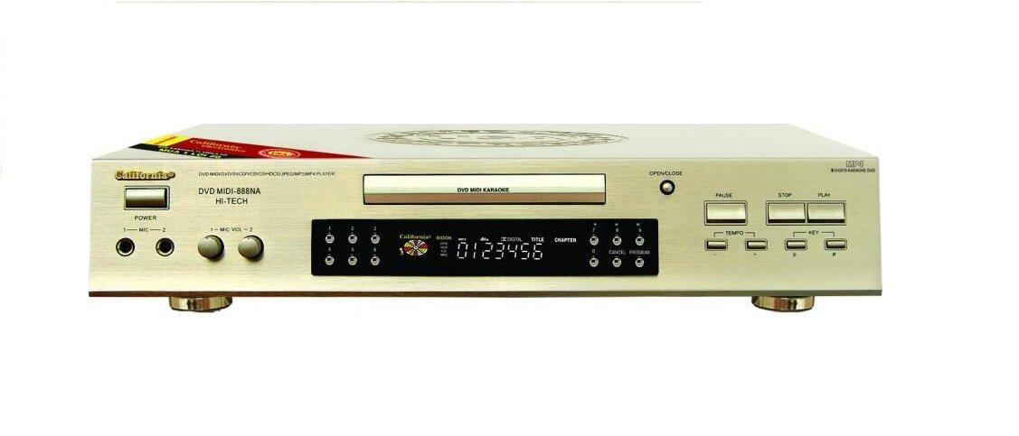 Đánh giá Đầu karaoke California MIDI-888K, đáp ứng mọi nhu cầu giải trí