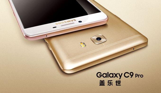 Đánh giá điện thoại Samsung Galaxy C9 Pro