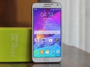 Đánh giá điện thoại tầm trung Samsung Galaxy E7