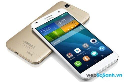 Đánh giá điện thoại thông minh Huawei Ascend G7