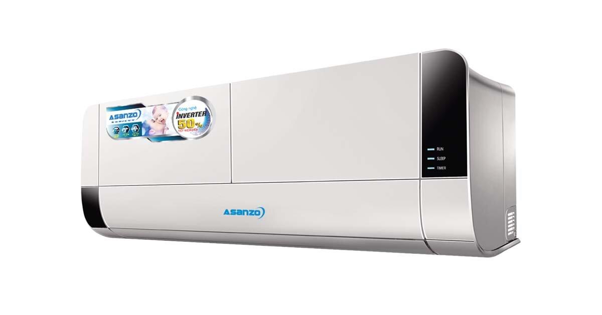 Đánh giá điều hòa Asanzo 12000btu Inverter K12