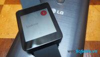 Đánh giá đồng hồ thông minh LG G Watch